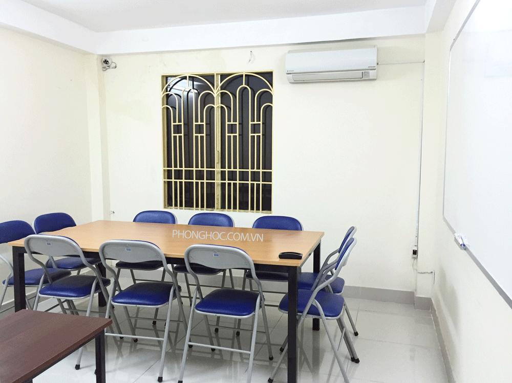 Cho thuê phòng dạy học quận Tân Phú theo giờ