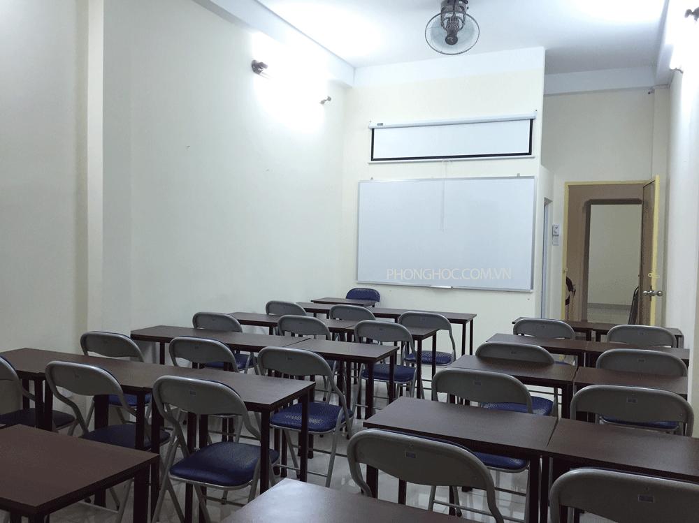 Cho thuê phòng dạy học quận Tân Bình theo giờ